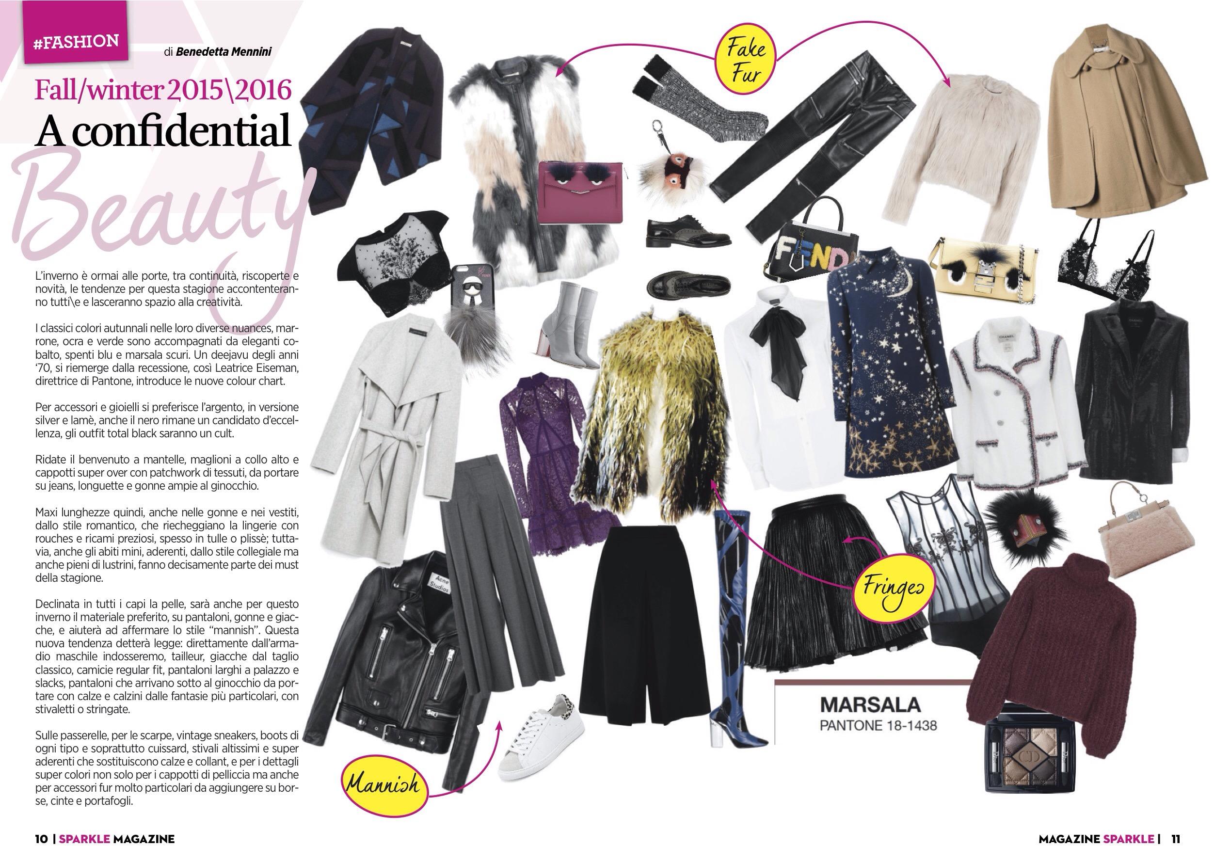 Anni 70 Colori confidential beauty ~ - 15 grams of fashion